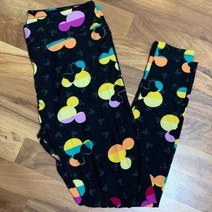 LuLaRoe Disney Tall & Curvy Leggings